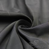 acqua di 75D 270t & degli abiti sportivi prodotto nero intessuto rivestimento esterno Vento-Resistente 100% del filamento del filato del poliestere del jacquard del plaid giù (FJ015)