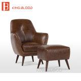 أثر قديم أسلوب جلد [لوفست] كرسي ذو ذراعين لأنّ قراءة
