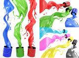 Resina de la pintura y del petróleo de la capa