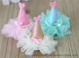 Bijoux Top Hat Lace Bowtie épingle à cheveux pour toilettage pour animaux de compagnie