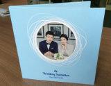 Aduana de la alta calidad librete video del LCD de 7 pulgadas para la invitación de la boda