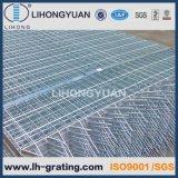 Reja de acero galvanizada para el suelo de la plataforma de la estructura de acero