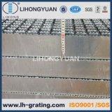 Pisadas de escalera Grating de acero galvanizadas para la escala