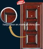 高品質のよいデザインのベストセラーの鋼鉄機密保護の鉄の外部ドア