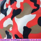 의복 안대기를 위한 인쇄된 호박단 직물