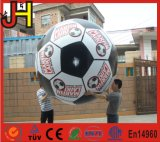 Воздушный шар футбола прочного гелия PVC раздувного круглый для спортов