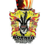 カスタムアメリカ亜鉛合金の金の柔らかいエナメルのTaekwondoのスポーツメダル