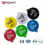 MIFARE plus EpoxyKaart RFID NFC hangt Markering voor Levering aan eindgebruikers