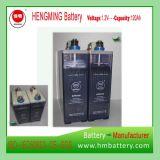 Bateria de níquel cádmio 110V / bateria recarregável / bateria Ni-CD Kpm120 para subestação