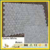 Tegels van het Mozaïek van China Castro de Witte Marmeren voor de Decoratie van het Huis/van het Hotel
