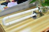 Corrimano dell'acciaio inossidabile della stanza da bagno della toletta e barre di gru a benna in su-Pieganti Handicapped di nylon
