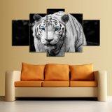 HD imprimió la pintura impresa tigre en el cuadro Ym-011 enmarcado lona del cartel de la impresión de la decoración de la lona
