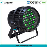 A PARIDADE do diodo emissor de luz de 54X3w RGBW 4in1 China enlata a iluminação do estágio de Guangzhou