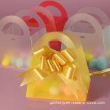 Прозрачный ясный способ складывая коробку подарка PVC (пластичный косметический мешок)