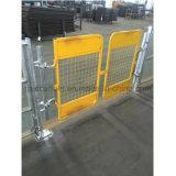 سقالة أمان بوّابة /Access بوّابة /Swing بوّابة مع لون أصفر
