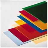 Plaat Acrylics van Diverse Kleuren van de douane de Hete Verkoop Gekleurde