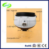 方法LEDヘッドライトの拡大鏡ランプ、1-3.5Xヘルメットの医学の拡大鏡(EGS-81004-G)
