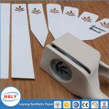Inserte el etiquetado de papel sintético de moldeo para botella de detergente líquido de lavandería