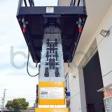 Elevador de alumínio do Dobro-Mastro, elevador hidráulico do homem, plataforma do elevador do trabalho aéreo
