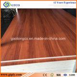 Contre-plaqué blanc de mélamine de la colle 18mm du faisceau E0 de bois dur pour la décoration