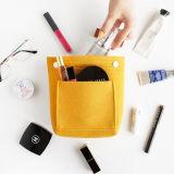 El mejor venta de material de fieltro de la bolsa de cosméticos Bolsa pincel de maquillaje
