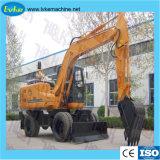 Manufactura china el suministro de la construcción de la rueda de la máquina excavadora hidráulica