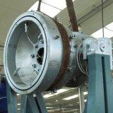 プラスチック管の押出機PE/PP/HDPEの真空の口径測定の管の放出ライン