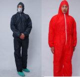 처분할 수 있는 Hubei Mingerkang는 필름 보호 작업복을 호흡한다