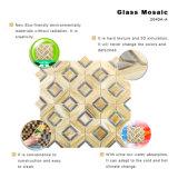 Azulejo de mosaico del vidrio manchado del suelo del cuarto de baño de los cuadrados de los precios de fábrica pequeño