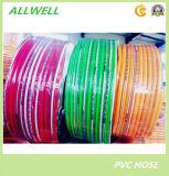 Зеленым труба шланга брызга воздуха PVC пластичным высоким усиленная давлением