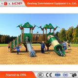 De populaire Commerciële Aantrekkelijke Speelplaats van de Kinderen van de Speelplaats Openlucht Houten Grappige (hd-MZ054)