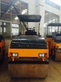 6 Tonnen-mechanische doppelte Trommel-Vibrationsstraßen-Rolle