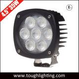 E-MARK утвердил 4.5inch 35W Semi-Round кри компактный светодиодный индикатор рабочего освещения