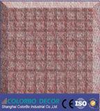 Scheda acustica estetica variabile rossa della fibra di poliestere