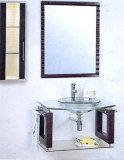 Het Kabinet van de Gootsteen van de badkamers, de Bovenkant van de Ijdelheid van het Glas (A049)