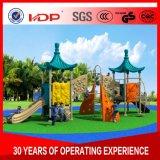 大きいおもちゃのプラスチック屋外の運動場は子供のための庭のおもちゃを滑らせる