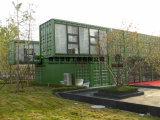 Edificio modular del envase de la oficina de la estructura de acero