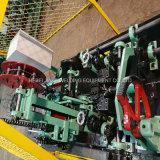 陽性および否定的なねじれの有刺鉄線機械