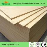 precio bajo de 1220X2440m m para la madera contrachapada del anuncio publicitario del grado de los muebles