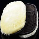 Luva de lãs do Short da luva da limpeza do carro da luva da lavagem da pele de carneiro