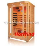 Sauna portable del sitio de la sauna del infrarrojo lejano (SEK-C2)