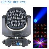 19X15W RGBW 4in1 Bienen-Augen-bewegliches Hauptlicht für grosses Erscheinen