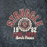 Le T-shirt de grillage de Logoprinting d'été dans des tricots de sport de l'homme vêtx Fw-8672