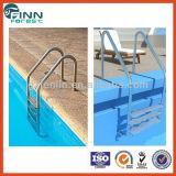 Échelle de piscine de matériau de l'acier inoxydable 316