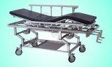 Gute Qualitätskrankenhaus-medizinische Bett-Bahre-Laufkatze mit Kurbel (SLV-B4307)