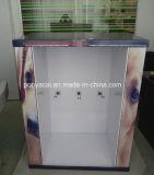 4-lado de la pantalla personalizada cartón Pallet con ganchos del metal para prendas de vestir