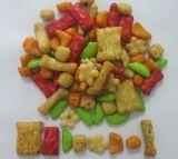 Spuntini (cracker di riso e noccioline mix)