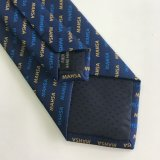 Men's High Quality 100% Woven Polyester Logo Tie (L066)