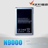 pour la batterie de capacité de la galaxie Note3 Originail de Samsung N9000
