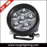 Indicatori luminosi fuori strada rotondi E-Approvati del lavoro da 3.5 pollici 18W LED